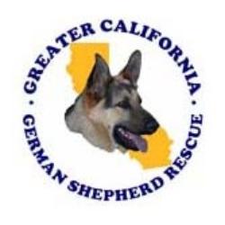 Greater California German Shepherd Rescue